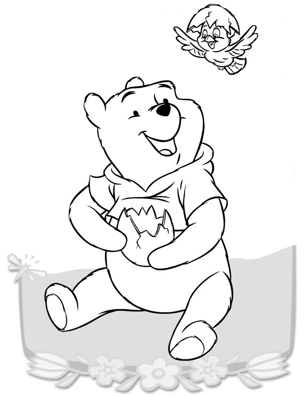 Dibujos para Colorear Winnie the Pooh 9