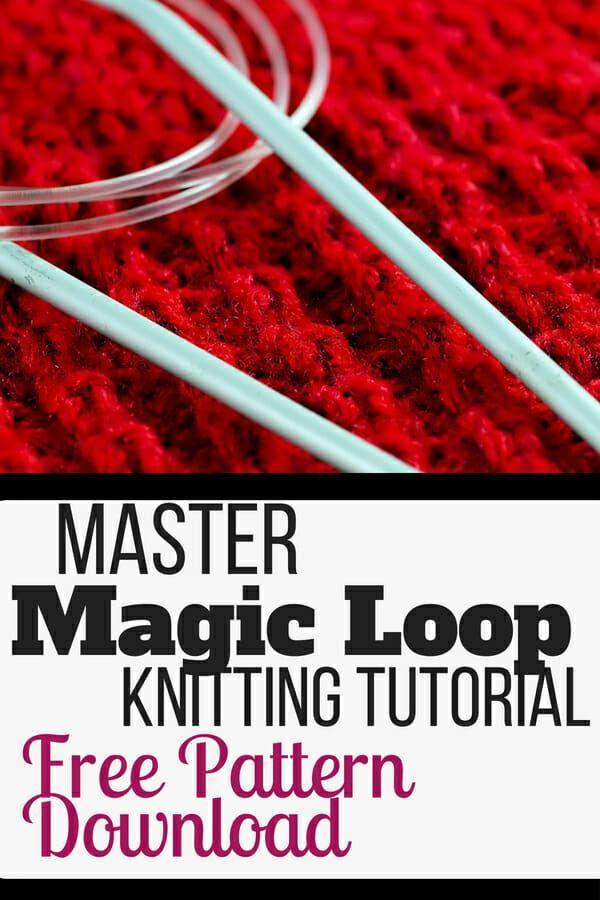Master Magic Loop Knitting Tutorial And Free Download Baby Sock