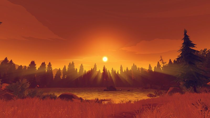 Firewatch Has Your Wallpaper Needs Covered For 2016 Wal