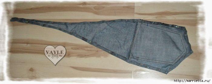Como hacer un chaleco muy original reciclando unos jeans o vaqueros que ya no utilices. Fácil de hacer. Fuente:http://marrietta.ru/ DIY bolso vaqueroComo hacer una falda con un pantalón vaqueroCesta tejana recicladaReciclar de pantalón vaquero a faldaIdeas para reciclar camisas y camisetasDIY como hacer un cojín multiusos vaqueroDIY Zapatillas vaqueras para casaDIY Bolsa para …