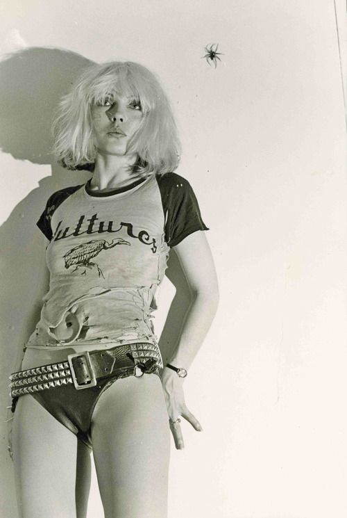 Chris Stein Debbie Harry Punk Magazine Centerfold Shoot