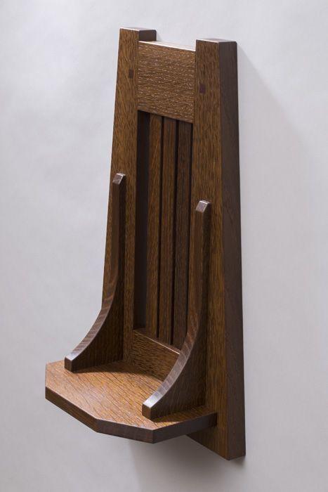 American Craftsman Wall Shelf Artist, American Craftsman Furniture