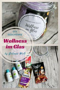 Wellness im Glas mit kostenloser Vorlage