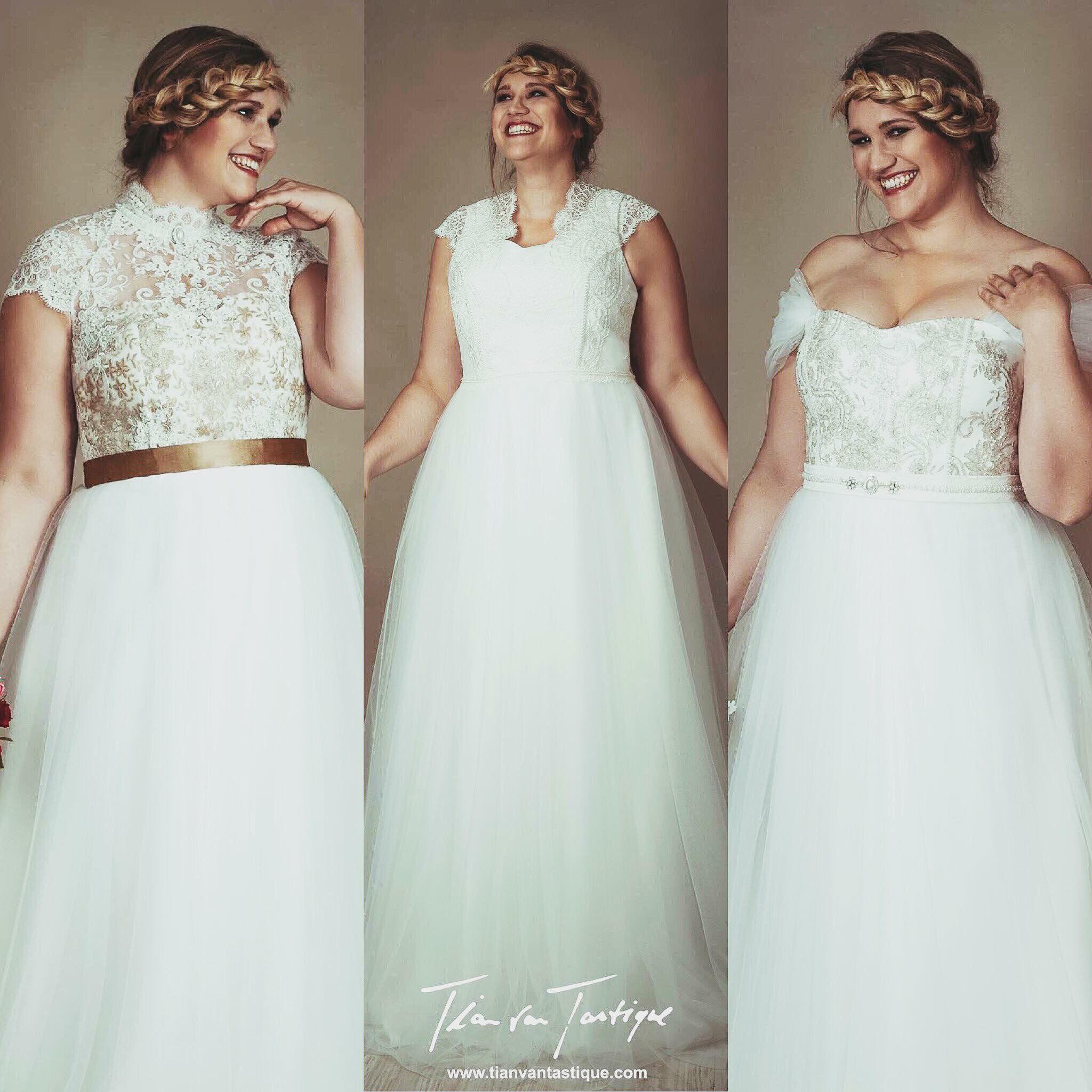 Traumhafte Designer Brautkleider für die moderne Plus Size Braut