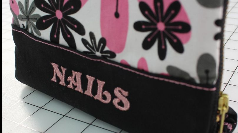 Video Sew-A-Long: Manicure Bag with Angela Wolf Pt. 1