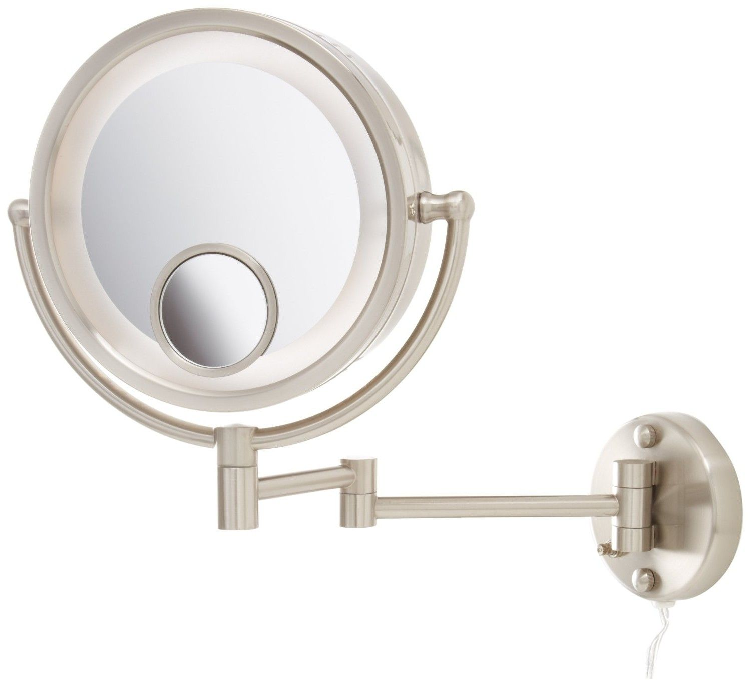 Pic Of modren wall mounted magnifying mirrors for bathrooms bathroom from Bathroom Magnifying Mirrors