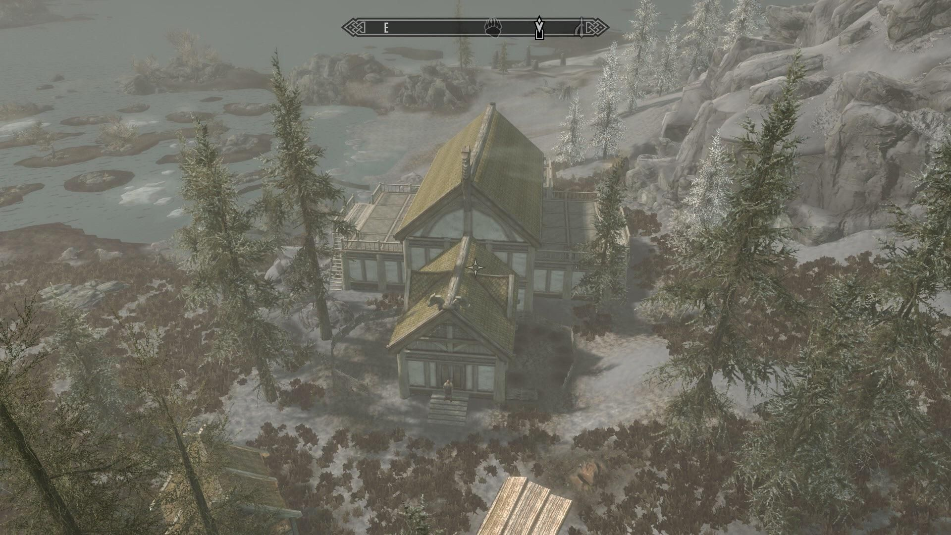 When Building Windstad Manor It Wouldn T Give Me The Right Plans In The Drafting Table Aren T I Supposed To Have A Green House Tr Skyrim House Lake View Manor