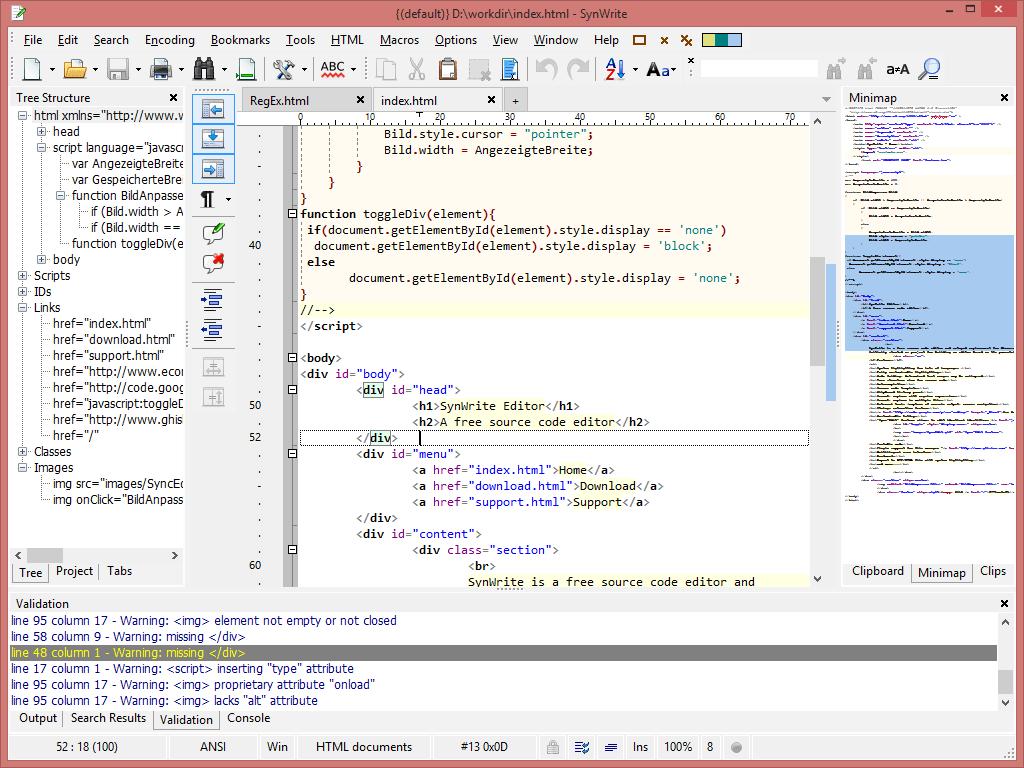 Synwrite Home Html Editor Web Development Web Development Design