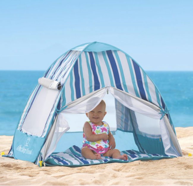 12 Summer Products That Make Your Baby S Beach Day Safer Baby Beach Gear Beach Baby Beach Trip