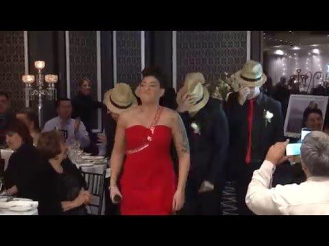 The Best Bridal Entrance Ever Uptown Funk Wedding Entrance Wedding Flash Mob Wedding Dance