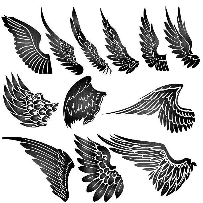 Wings Tattoo Design Best Wings Tattoo Design Photo Collaboration