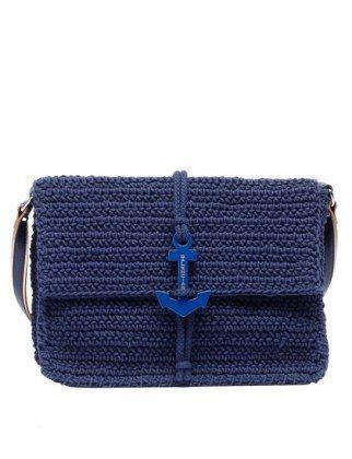 50 Dream Handbags: balenciaga crochet anchor shoulder marin