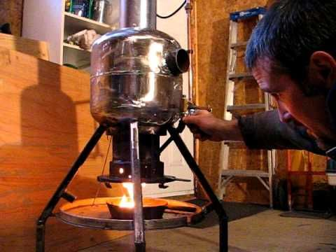 Waste Motor Oil Heater Or Vegetable Oil Projects To