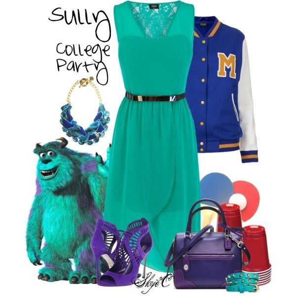 Sully College Party - Monsters Inc / University\
