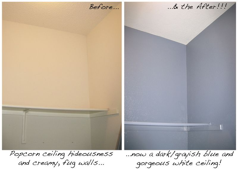 Removing Popcorn Ceilings Our Next Big Project Popcorn Ceiling Ceiling Painting Painting Popcorn Ceiling