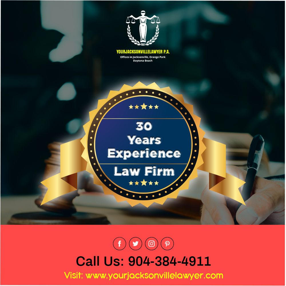 Your Jacksonville Lawyer 30 years of experience law firm