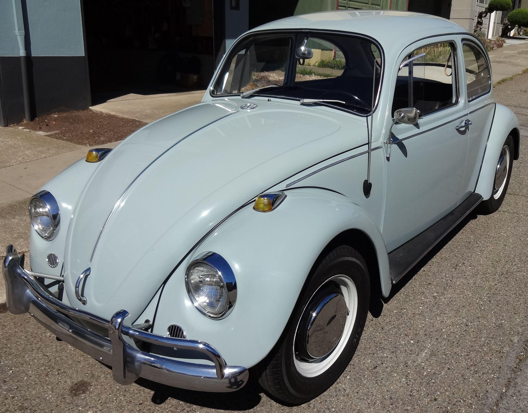 1966 Sea Blue Vw Beetle For Sale Oldbug Com: SOLD — L639 Zenith Blue '67 Beetle