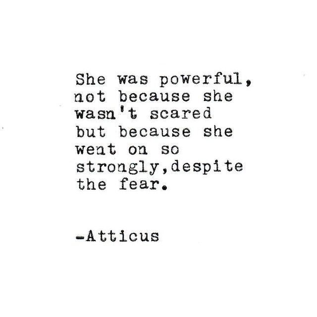 She Was Powerful....