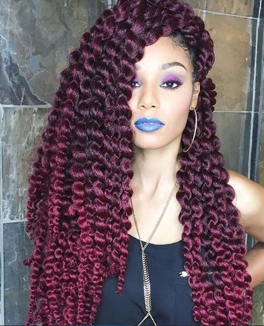 12twists Pack Synthetic Two Tone Braiding Hair Havana Mambo Twist Braids Ombre Crochet