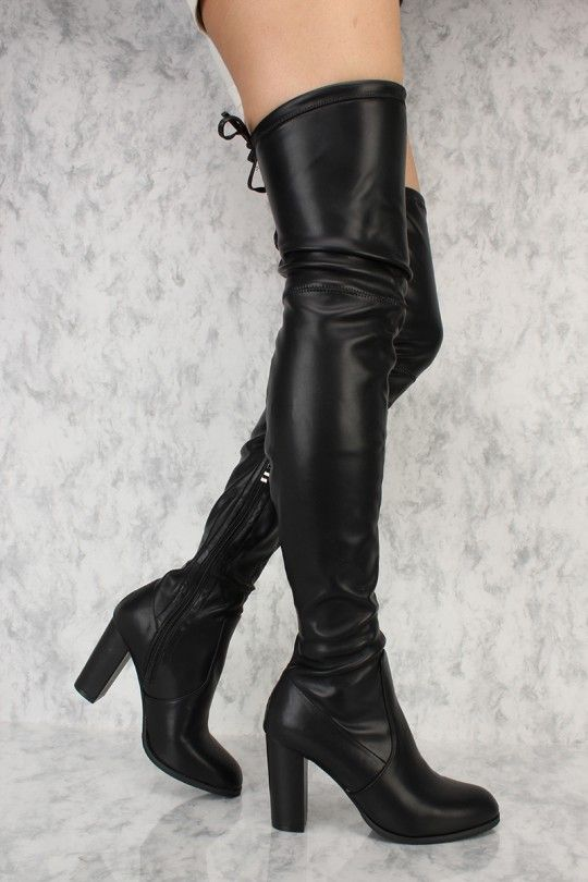 a9fe278501f These sexy and stylish thigh high heel boots are a perfect fit to wear on  top of some cute leggings and a nice shirt to go out with. Featuring