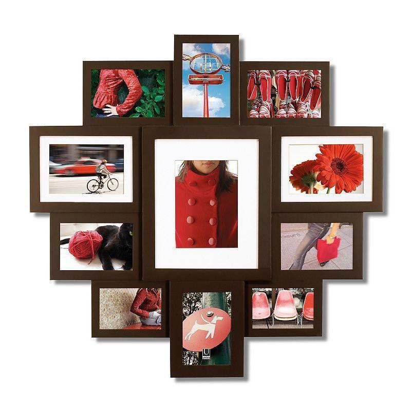 Umbra Huddle 11 Opening Photo Collage Frame Frame Wall Collage Frames On Wall Collage Frames
