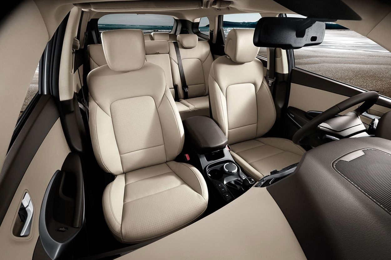 2016 Hyundai Santa Fe Interior View Hyundai Suv, Hyundai Models, Santa Fe  Interiors,