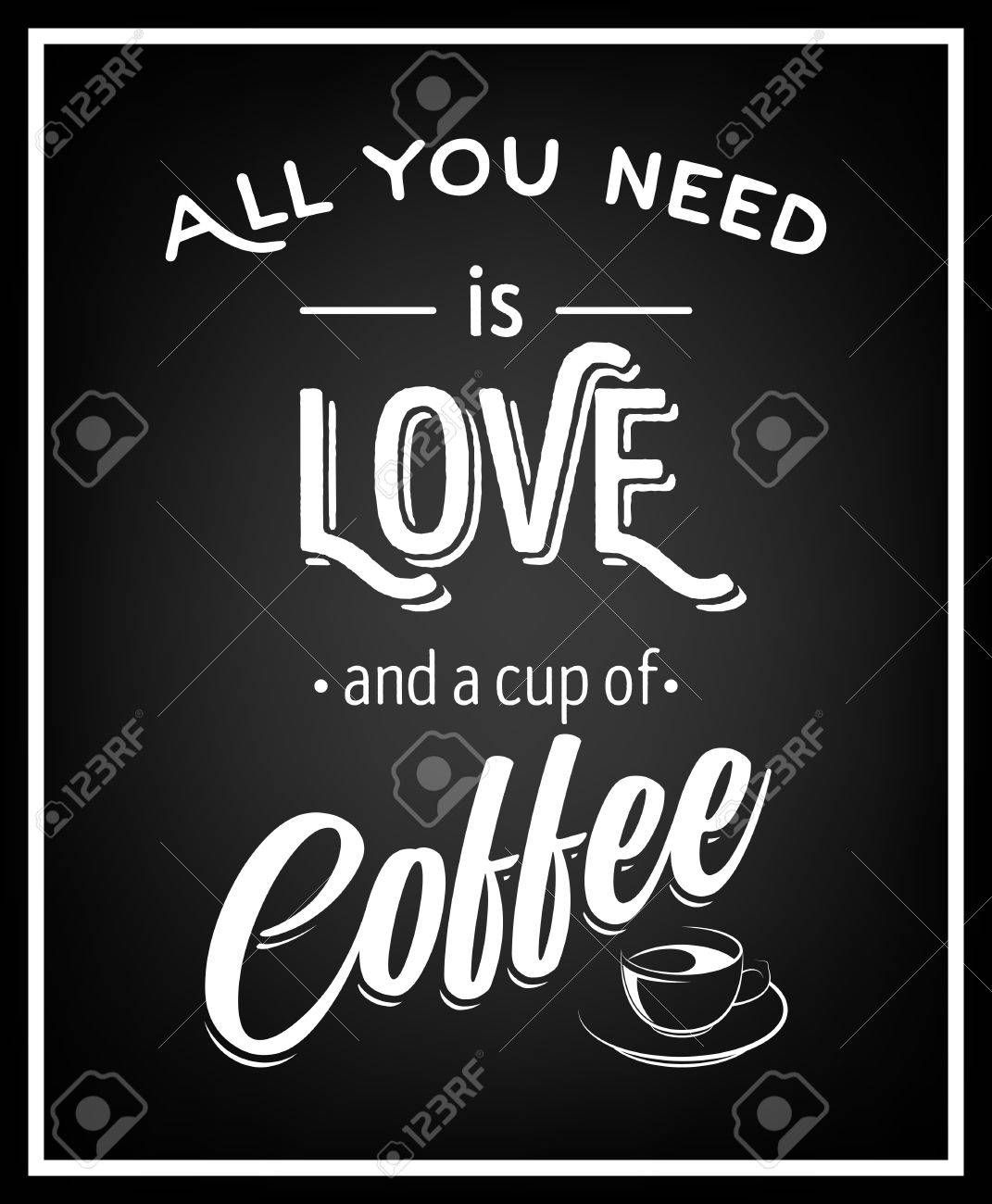 Stock Vector Coffee quotes, Coffee cup quotes, All you