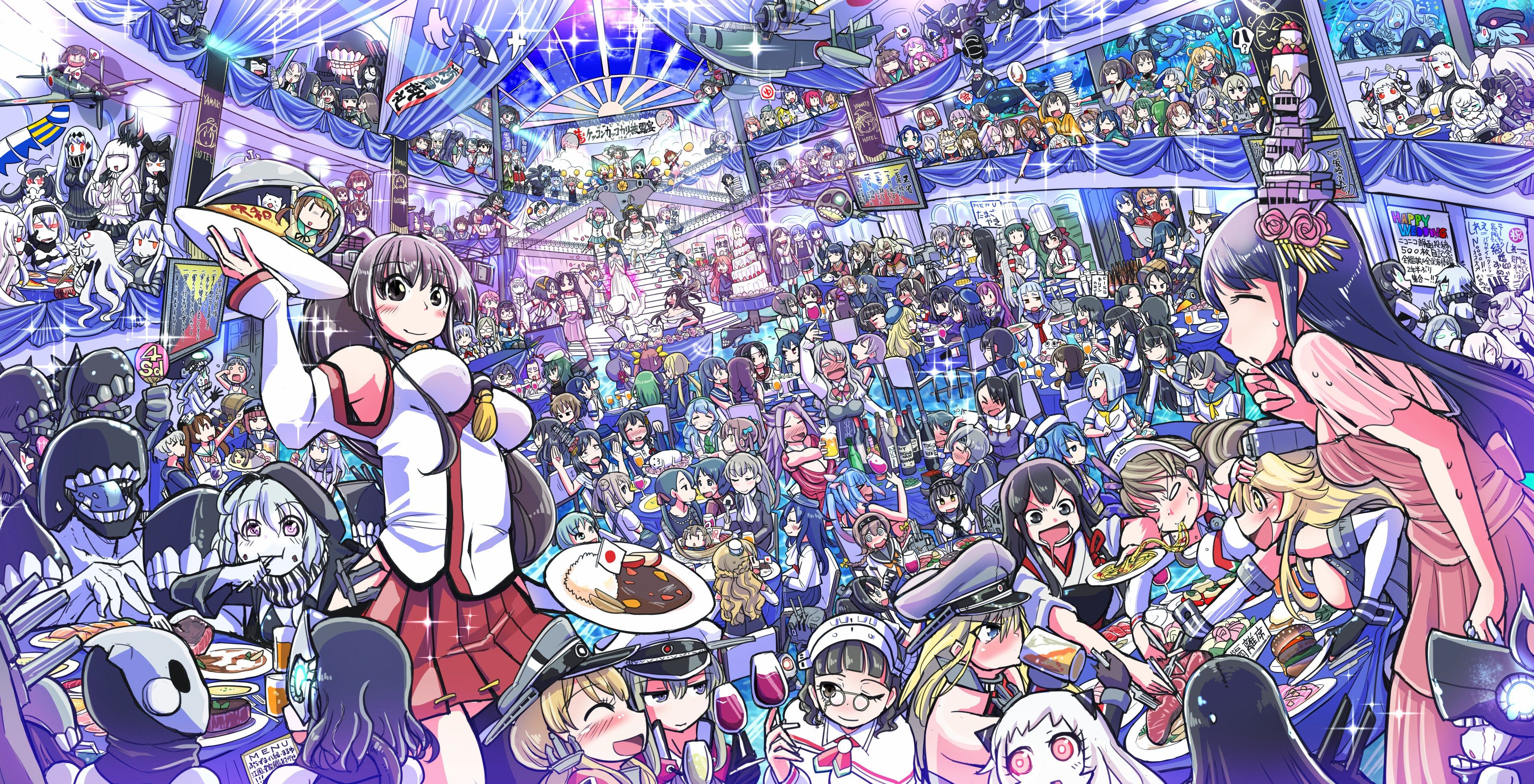 3910x2000 Kantai Collection Anime Kantai Collection Anime Images