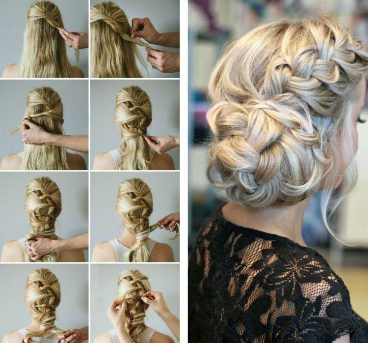 Coiffure de mariage Г©tape par Г©tape cheveux courts