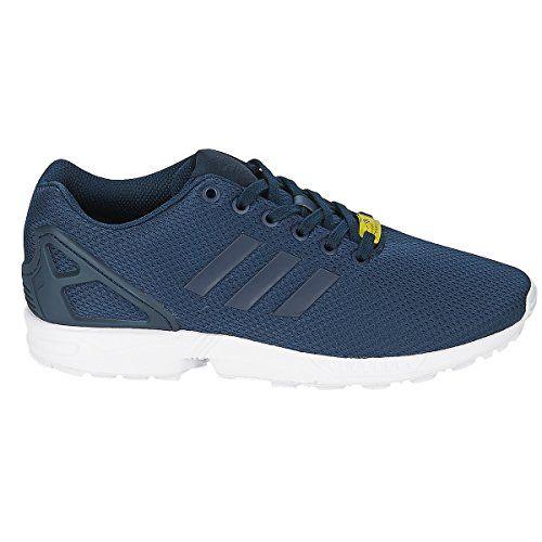 adidas Originals Men's ZX FLUX Sneakers EUR 44 Navy http