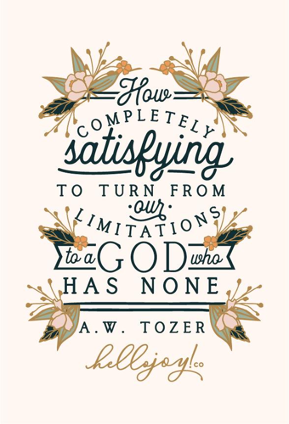 Encouraging Wednesdays … A W  Tozer » Hello Joy! co | Hello Joy! co