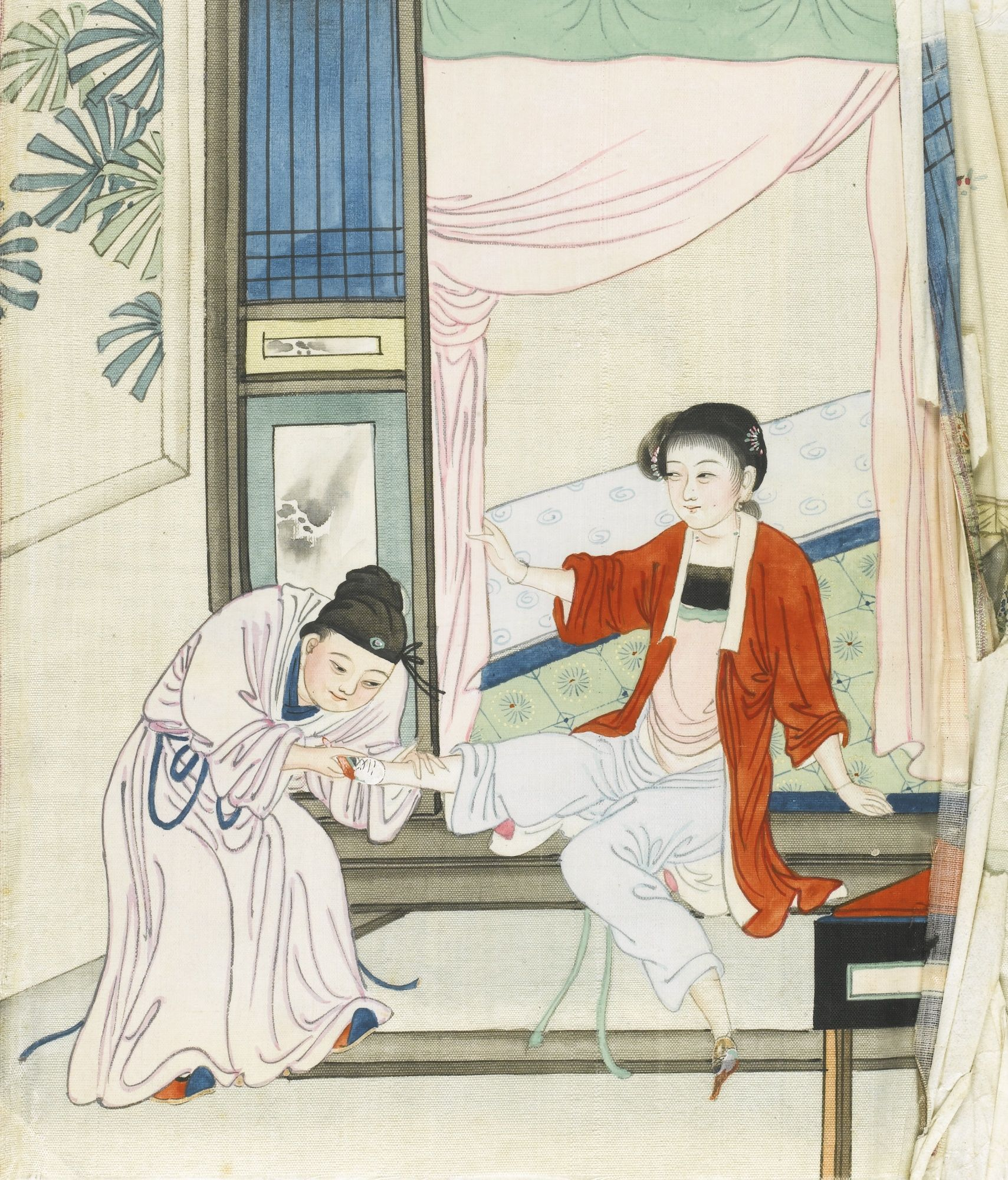 Erotic china paintings