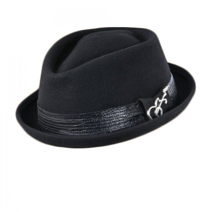 Carlos Santana Ringo Diamond Crown Fedora Hat (L cd98339bb11