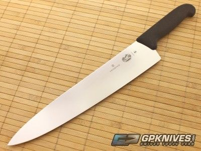 Vicorinox 12 Chef S Knife Swiss Steel Fibrox Handle 40522 Victorinox Knives Chef Knife Best Kitchen Knives