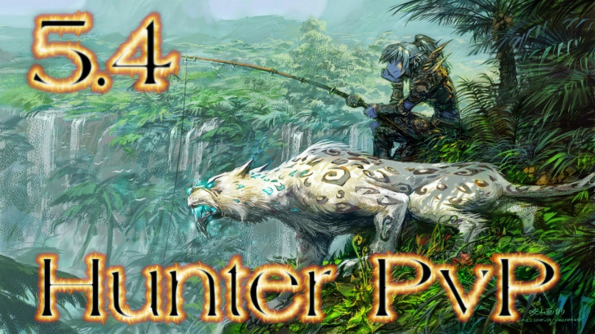 5 4 Bm Hunter Pvp 1080p Hunter Monk 2s With Xuen World Of Warcraft Wallpaper Warcraft Art World Of Warcraft