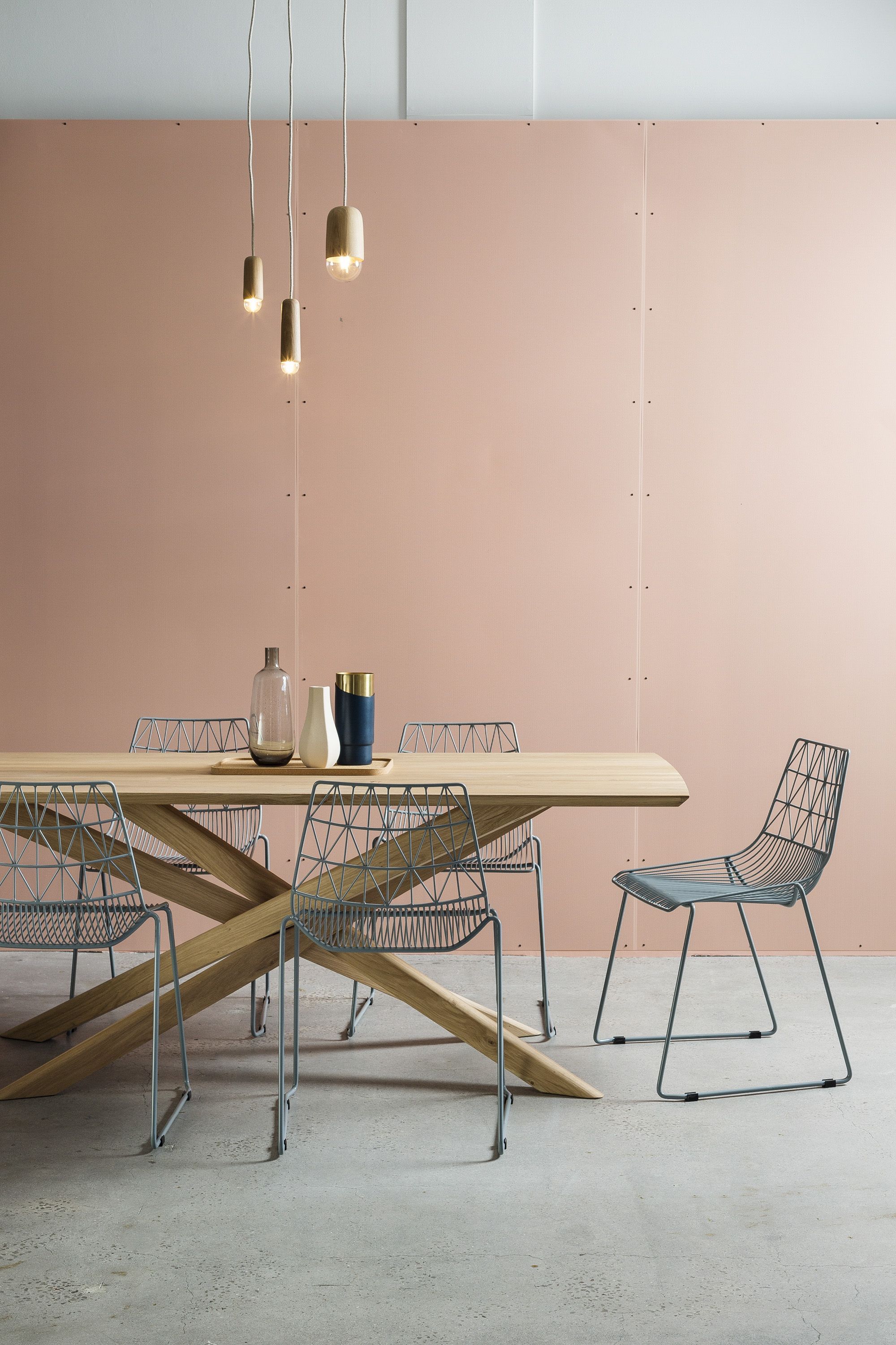 Mikado Dining Table By Ethnicraft Cody Side Chair By Clickon Dining Table Dining Table