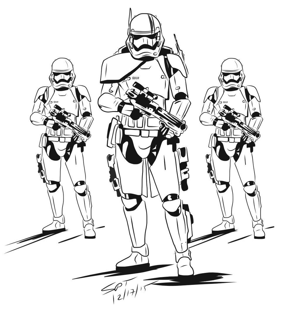 First Order Arc Trooper Concept