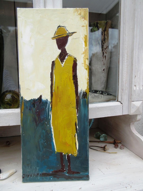 invitation au voyage   peinture figurative originale  u00e0 l