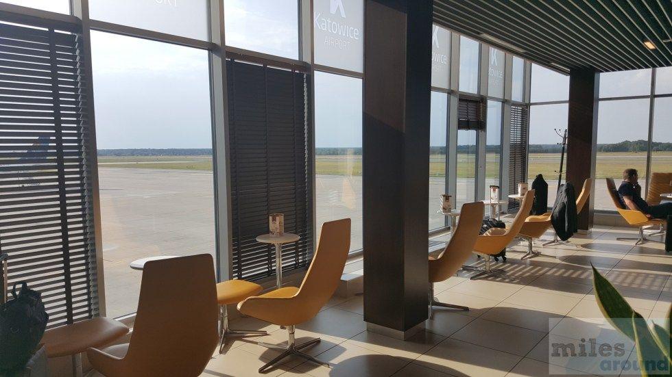 Business Lounge am Flughafen Kattowitz (Lounge Bewertung