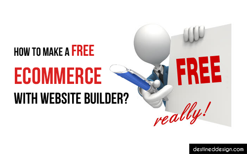How to make a free ecommerce with website builder