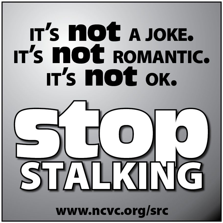 How to stop stalking someone?!