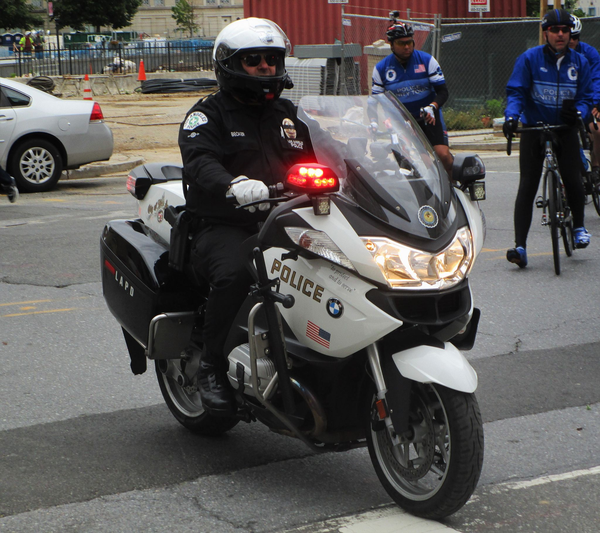 Los Angeles Police Department Bmw R1200rt Motorcycle Los Angeles Police Department Bmw R1200rt Police