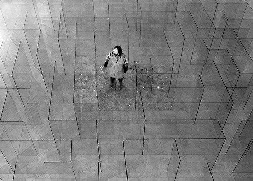 Claudio Parmiggiani - Glass Labyrinth