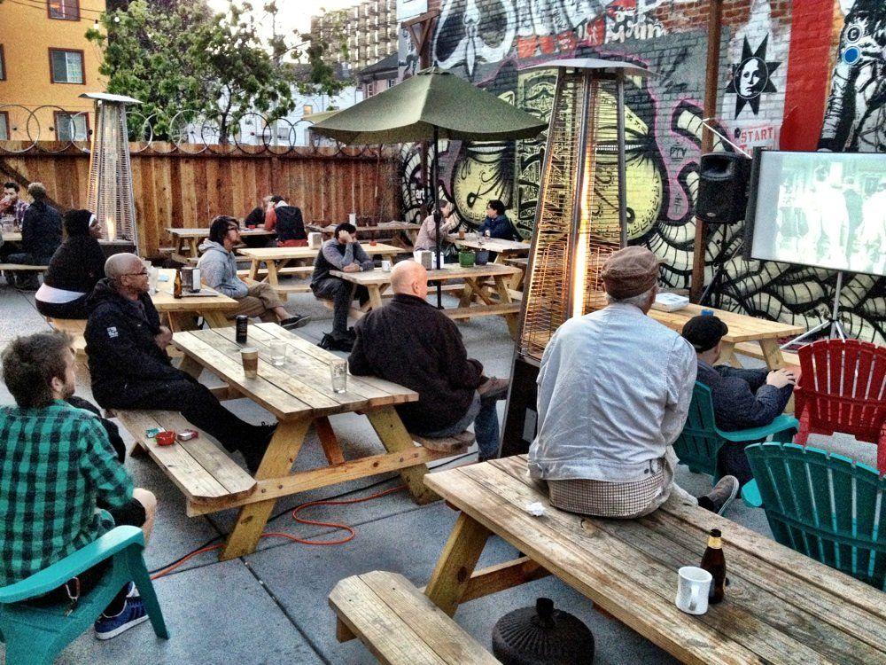Telegraph: This Outdoor Beer Garden Is The Zeitgeist Of Oakland. 2318  Telegraph Ave,