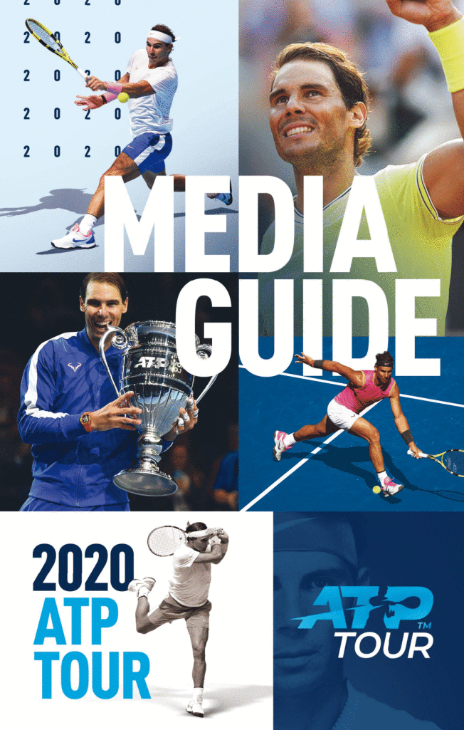 Cover Of Atp Tour Media Guide Is None Other Than Rafael Nadal Thanks To His Well Deserved No 1 Ranking Rafael Rafael Nadal Fans Sports