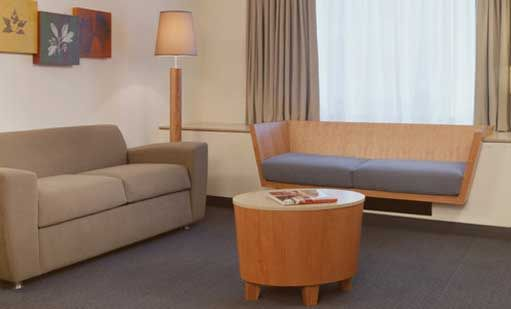 bank Suite Rooms at LE PARKER MERIDIEN Hotel New York