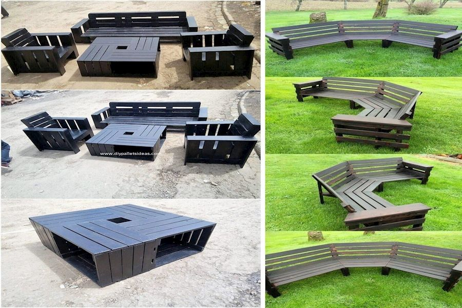 Wood Pallet Tables For Sale   Standard Pallet Weight ...
