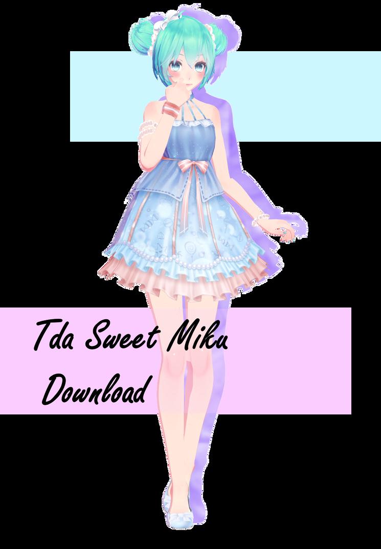 Tda Sweet Miku Download By Toriiisweird On Deviantart Miku Cute Art Styles Hatsune Miku