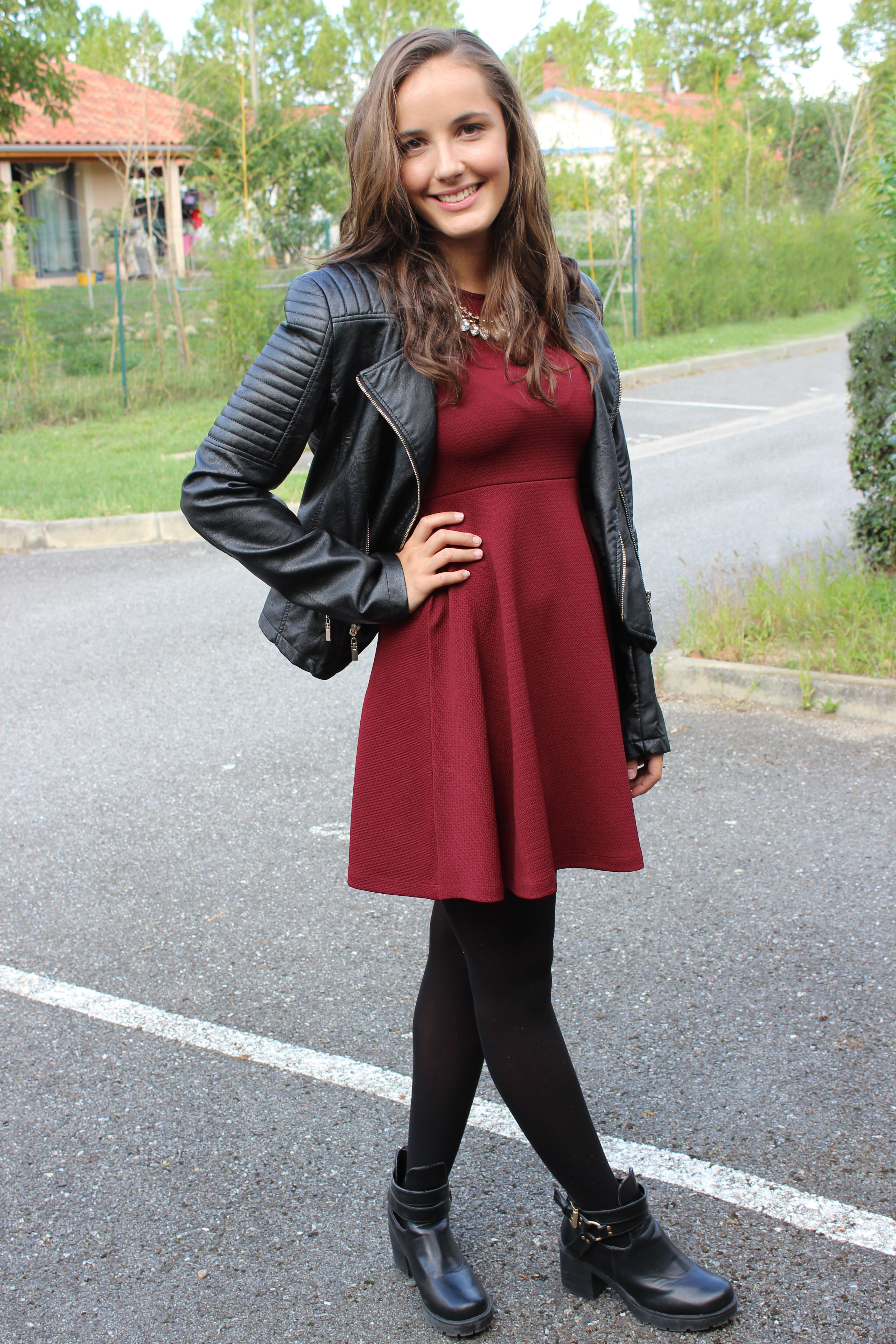 Du Tenue ElegantJust Perfect Jour1So Veste Cuir Simili CorBWedx