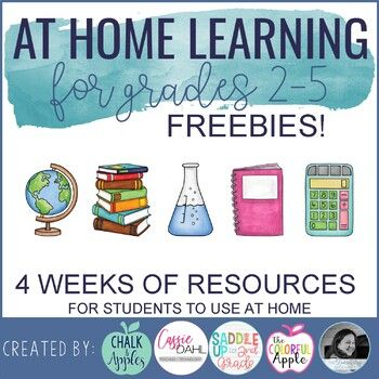Photo of FREE At Home Learning for 2nd – 5th Grade